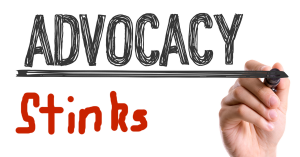 Advocacy stinks